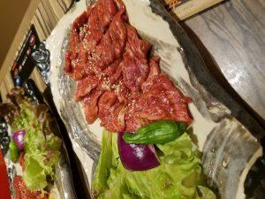 太平楽の焼き肉ランチ