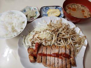 スイフンガのトンテキ定食