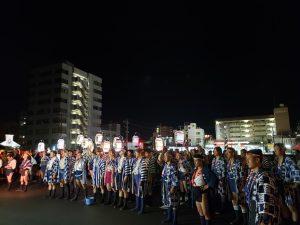 令和元年飯塚山笠スタートお汐取りに出発