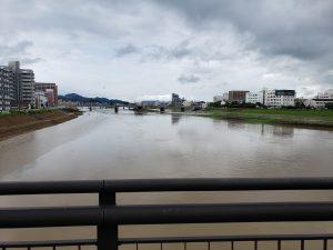 きょうの遠賀川です