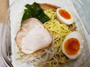 とろっと煮玉子の冷製中華そば by セブンイレブン