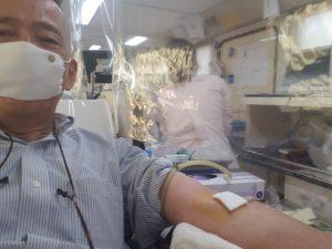 献血やってるよ