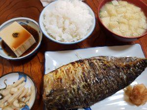 アクロス福岡直ぐ近くの真の鯖定食