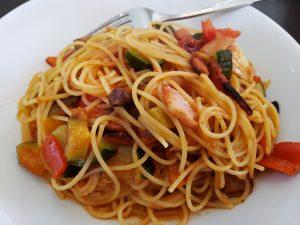 アンジョルノでおすすめパスタ、トマトソース